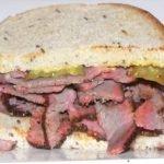 Homemade Pastrami Sandwich - Smoking a brisket