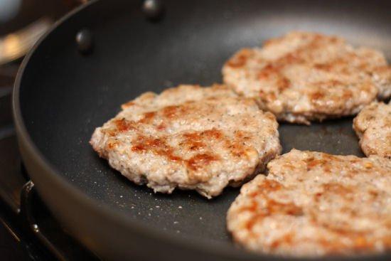 Making Breakfast Sausage Patties