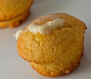 Homemade Spicy Honey Cornbread Muffin Recipe