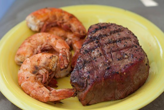 Maryland Style Grilled Shrimp