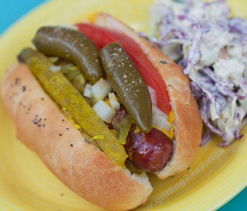 Chicago Style Hotdogs Recipe