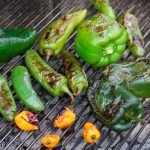 Homemade hot sauce recipe using grilled hot peppers