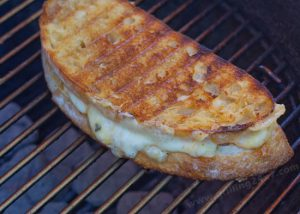 Grilled Cheese on a Grill