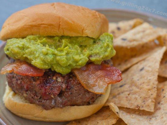 Bacon Guacamole Burgers