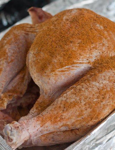 Dry rub for a Turkey