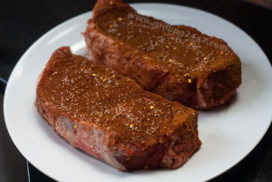 Southwest style steak dry rub recipe - Grilling24x7