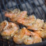 Grilled garlic shrimp recipe - on the grill - grilling24x7