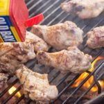 Grilled Old Bay Wings Recipe - Brush the wings with apple cider vinegar and Old Bay