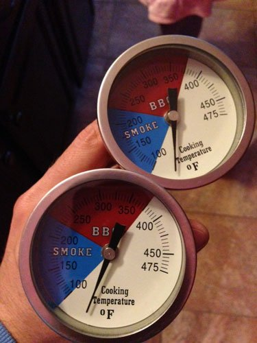 cheap thermometers for an ugly drum smoker
