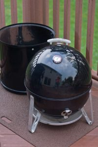 Using a Weber Smokey Mountain as a Charcoal Grill – Little Black Egg