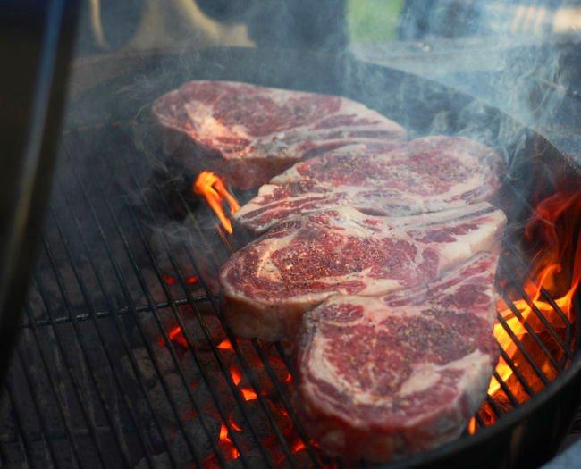 Bone-in Ribeye steaks!