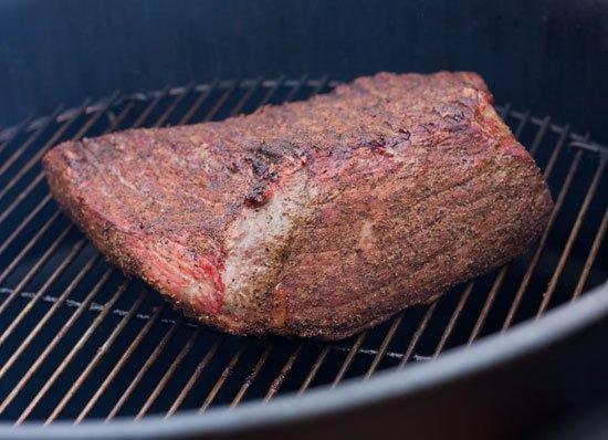 Maryland Style Pit Beef Recipe - Bottom Round on the Ugly Drum Smoker Sliced Thin