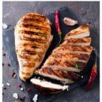 juicy grilled chicken breast
