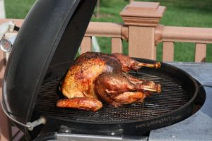 Butter Injected Grilled Turkey