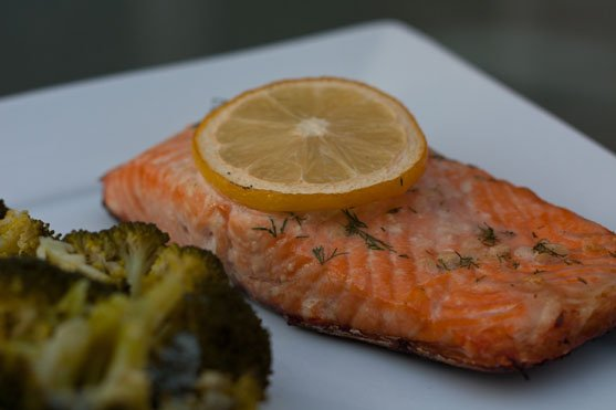 Grilled Salmon Grilled Directly on the Charcoal Grill Grates- Grilling24x7