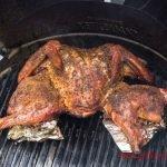 Spicy Spatchcocked Turkey Recipe - Grilling24x7