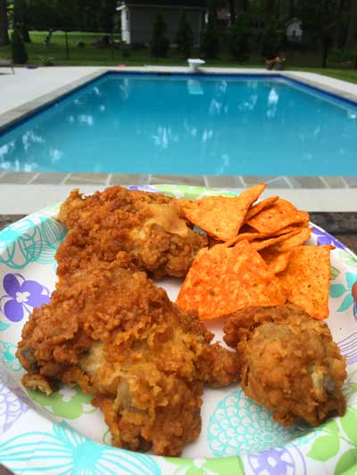 Royal Farms Chicken by the Pool