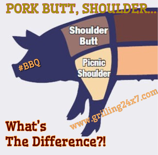 What's the difference between picnic and Boston butt