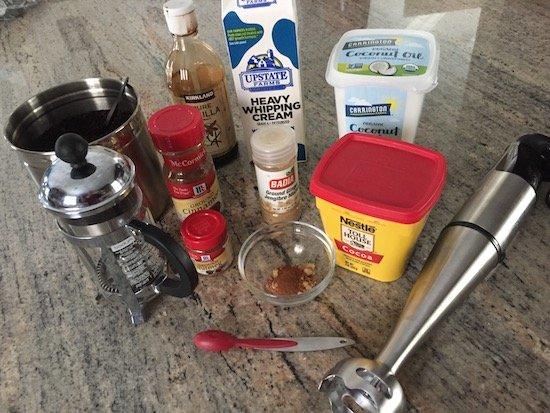 Keto Gingerbread Latte Recipe