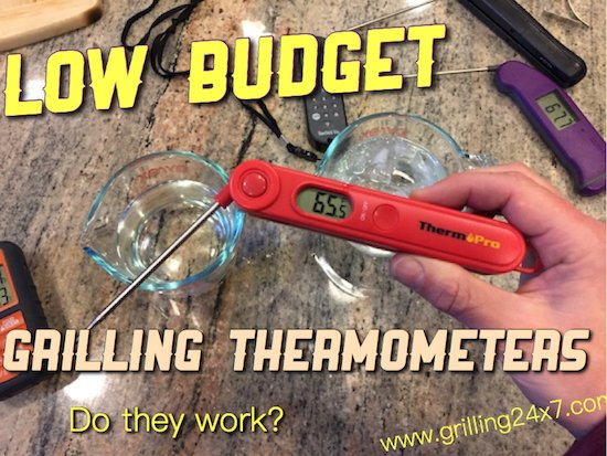 Grilling Thermometer Review – Thermapen Alternatives