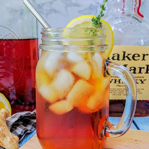 Lemon Thyme Sun Tea Makers Mark