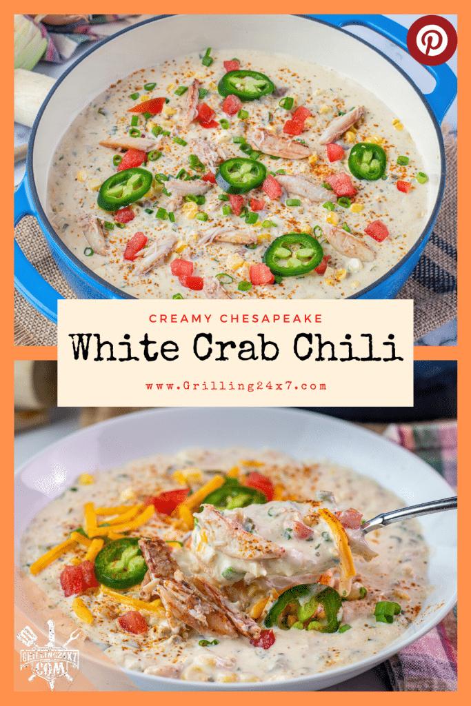 creamy white crab chili recipe