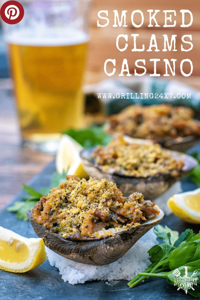 smoked clams casino pellet grill recipe