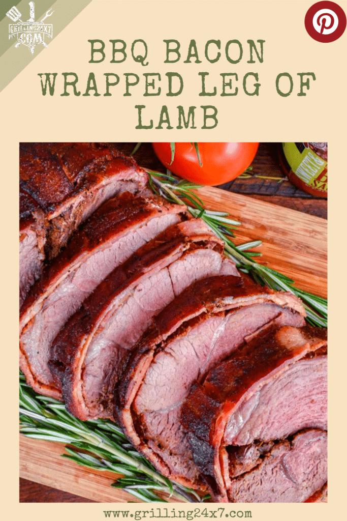 Bacon wrapped leg of lamb recipe for easter dinner