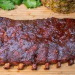 Hawaiian style spare ribs
