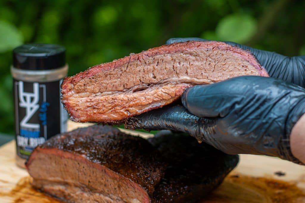 holding beef brisket