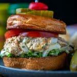 crab and egg salad sandwich recipe