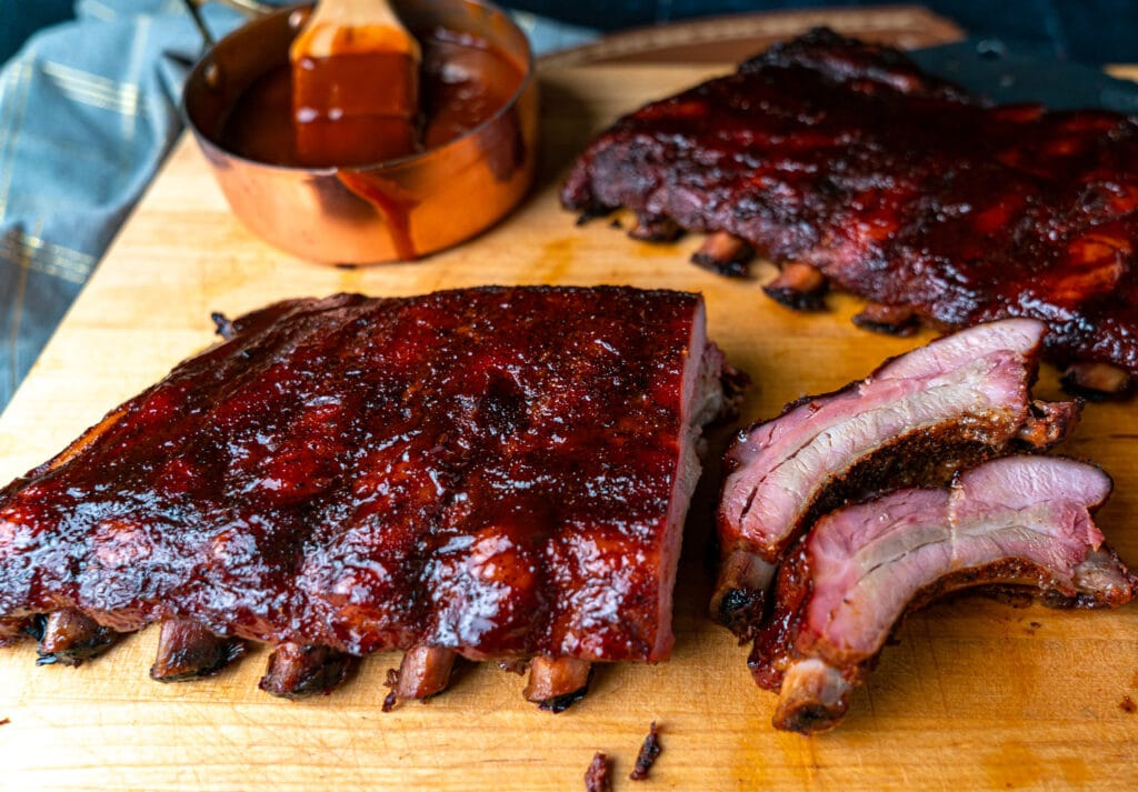 Baby back ribs gas grill recipe
