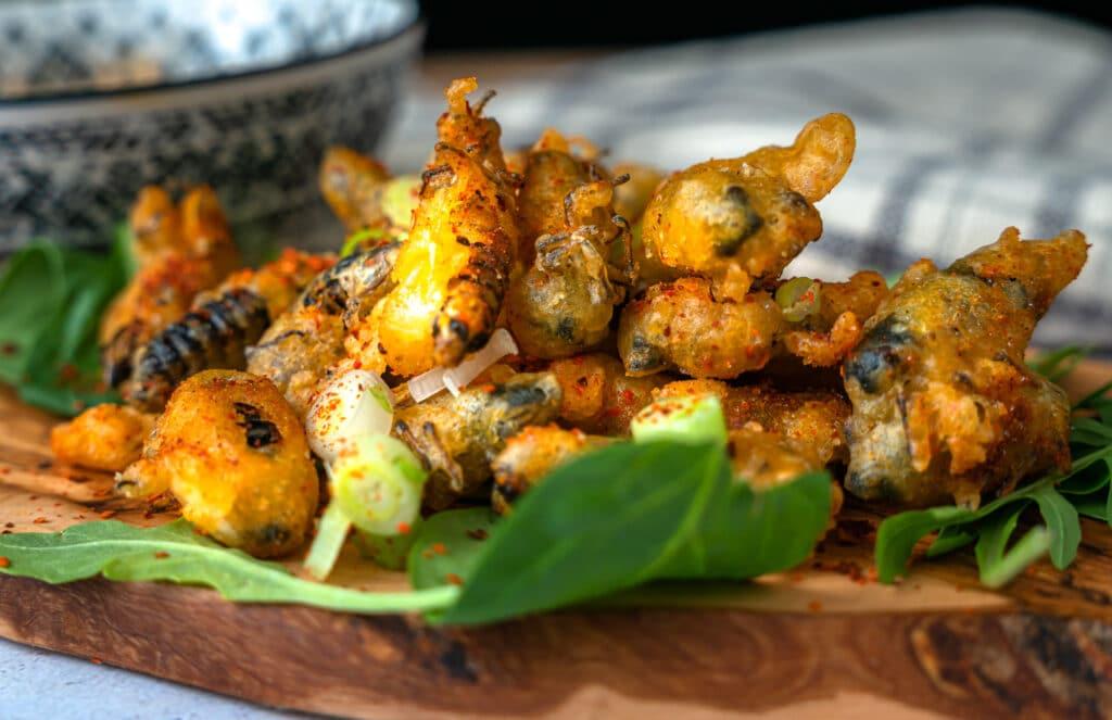tempura cicadas