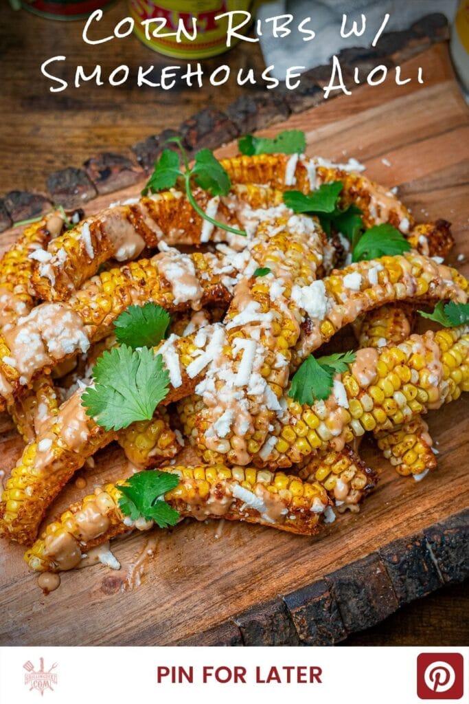 Tiktok viral corn rib recipe