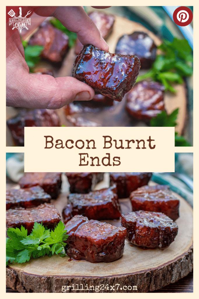 bacon burnt ends using slab bacon