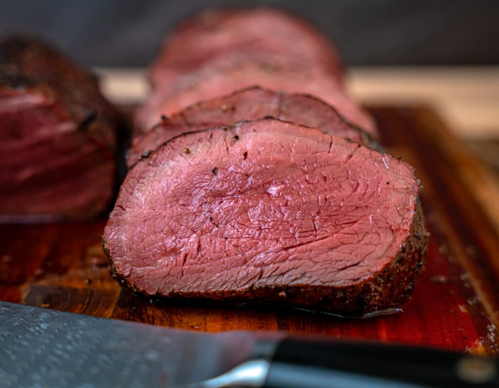 1 inch slice of beef tenderloin