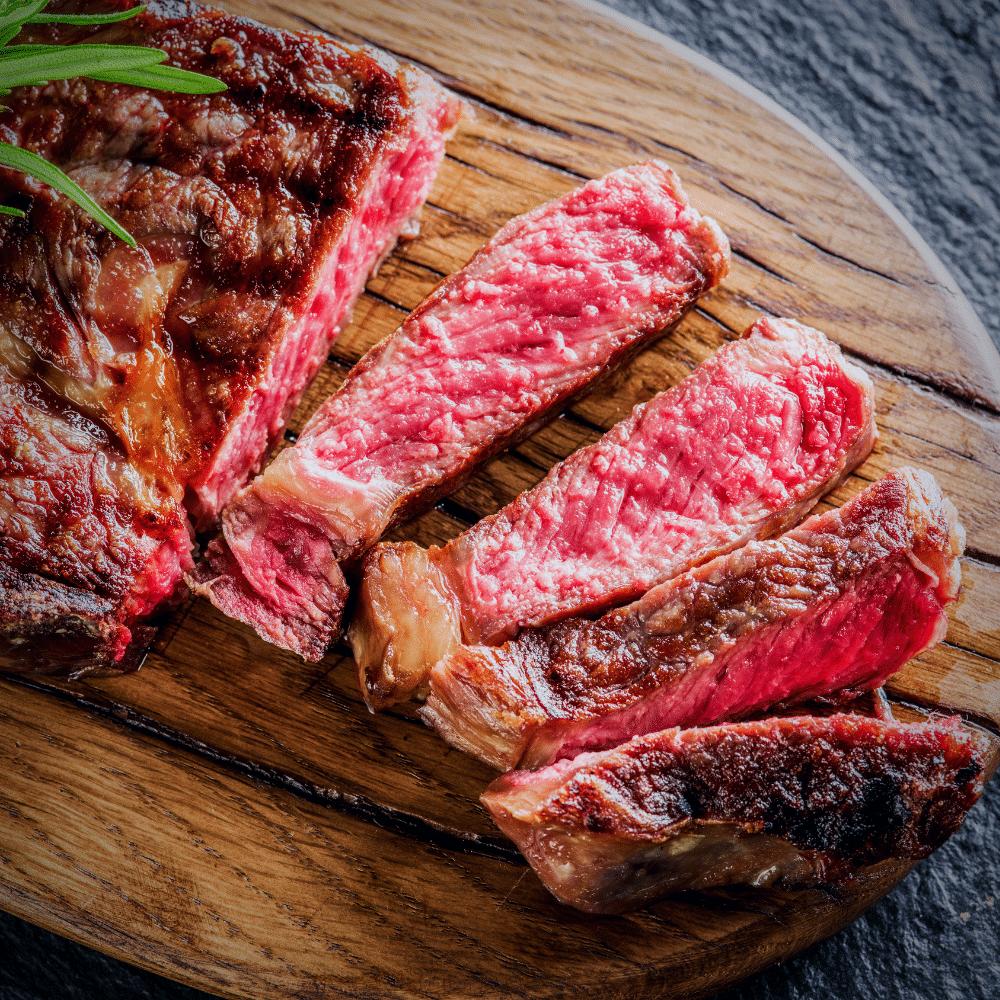 sliced boneless ribeye steak
